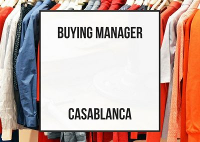 Buying Manager – Casablanca