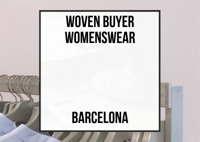 Woven Buyer Womenswear – Barcelona