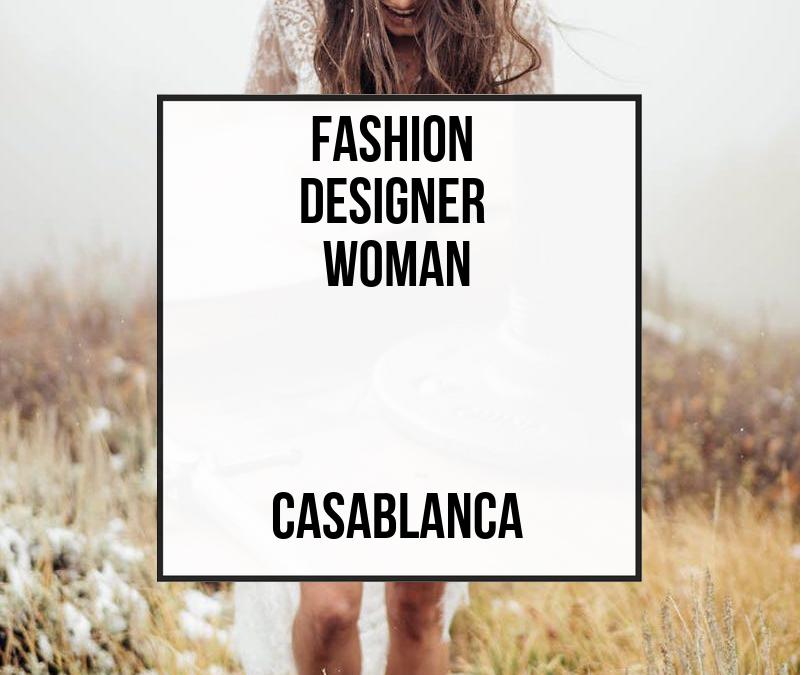 Fashion Designer Woman – Casablanca