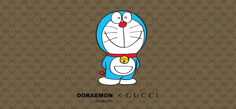 La colección cápsula de Gucci x Doraemon