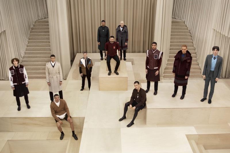 """Escapes"", la primera colección masculina de Riccardo Tisci para Burberry"