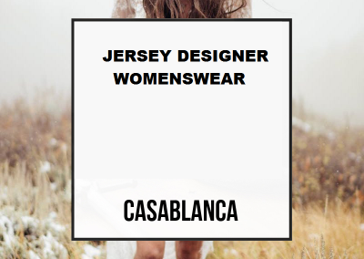 Jersey Designer Womenswear  LOCATION: Casablanca
